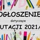 Obrazek aktualności REKRUTACJA DO SZKÓŁ PODSTAWOWYCH 2021/22