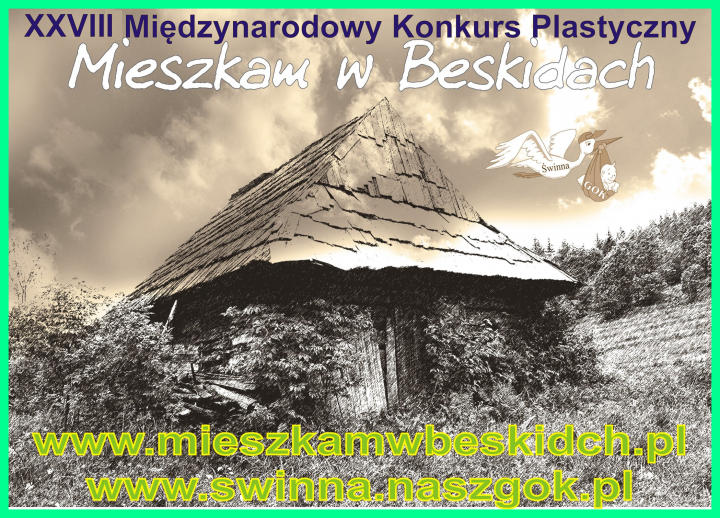 """Obrazek newsa XXVIII MIĘDZYNARODOWY KONKURS PLASTYCZNY """"MIESZKAM W BESKIDACH"""""""